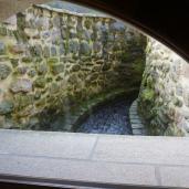 Passage de l'eau sous le Moulin - étage du bas