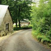 Chemin descendant au Moulin