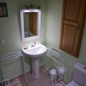 WC / salle d'eau au même étage que la salle à manger - étage principal